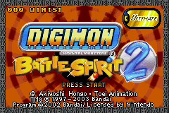 Digimon - Battle Spirit 2 - Introduction  -  - User Screenshot